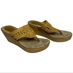 Sbicca 'Kalani' Wedge Platform Sandals Size 7